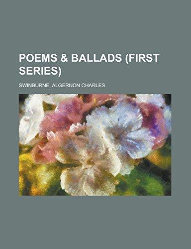 9781236707574: Poems & Ballads (First Series)