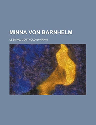 9781236710772: Minna von Barnhelm (German Edition)