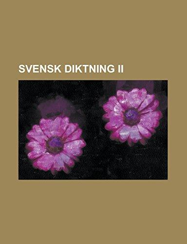 9781236711236: Svensk diktning II (Swedish Edition)