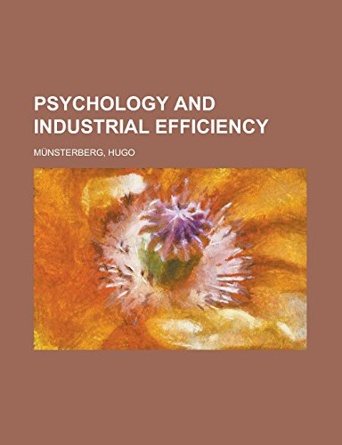 9781236714169: Psychology and Industrial Efficiency