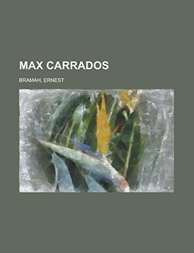 9781236714275: Max Carrados
