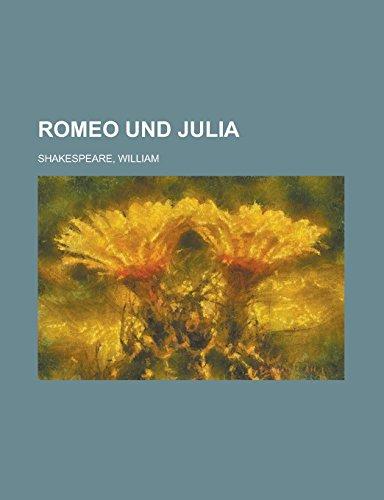 9781236716026: Romeo Und Julia