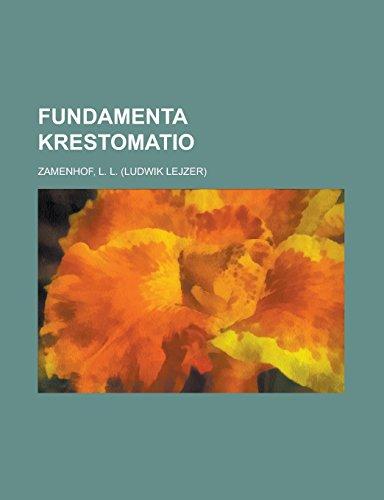 9781236717658: Fundamenta Krestomatio (Esperanto Edition)