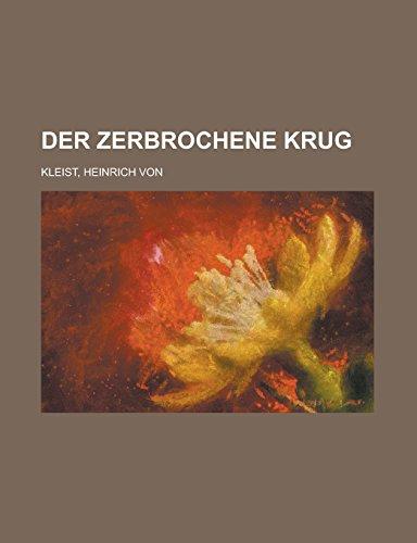 9781236720740: Der Zerbrochene Krug (German Edition)