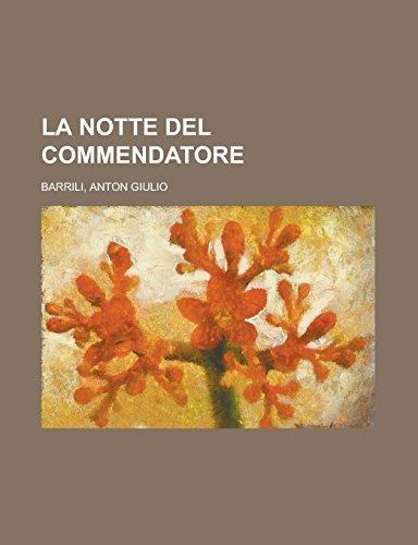 9781236725646: La Notte del Commendatore
