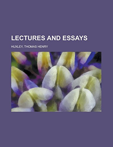 9781236727572: Lectures and Essays