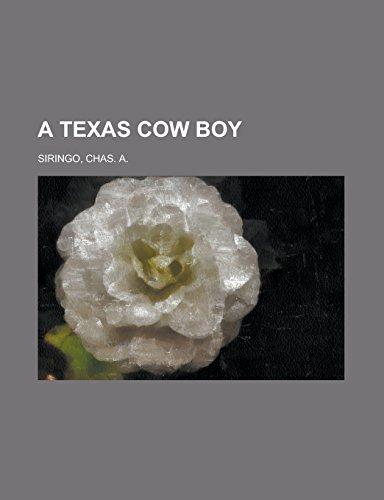 9781236727794: A Texas Cow Boy