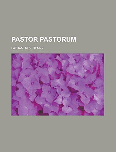9781236732668: Pastor Pastorum
