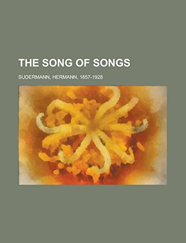 9781236736734: The Song of Songs