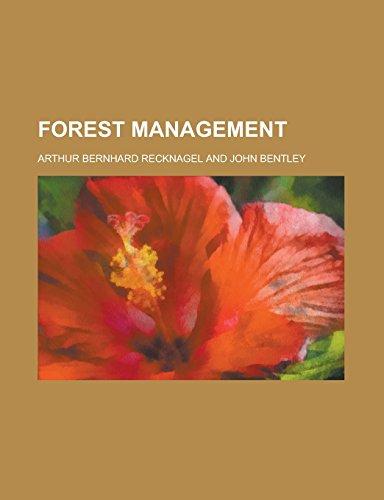 9781236793270: Forest management