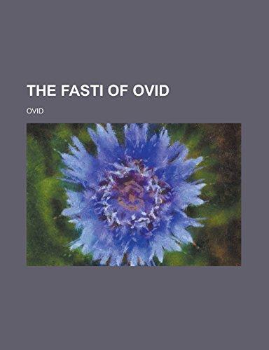 9781236809964: The Fasti of Ovid