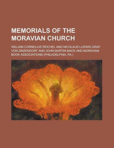 9781236898593: Memorials of the Moravian Church