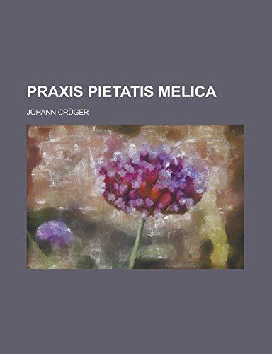 Praxis pietatis melica: Crüger, Johann