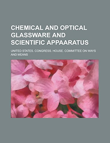 9781236998750: Chemical and Optical Glassware and Scientific Appaaratus