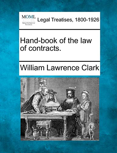 9781240020089: Hand-book of the law of contracts.