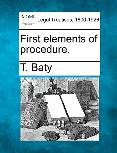 First elements of procedure.: T. Baty