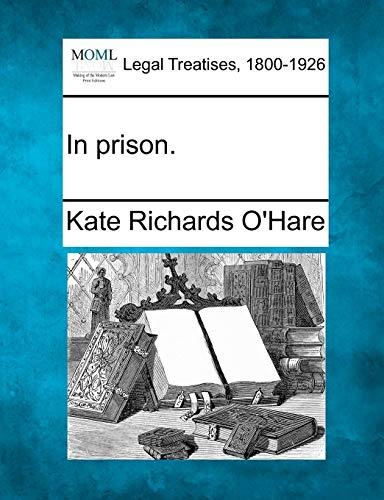 9781240120284: In prison.