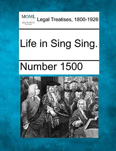 9781240132577: Life in Sing Sing.