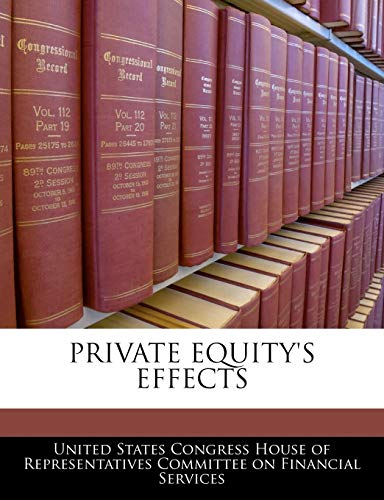 Private Equity's Effects: BiblioGov