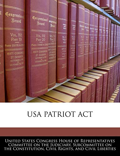 9781240557950: Usa Patriot Act