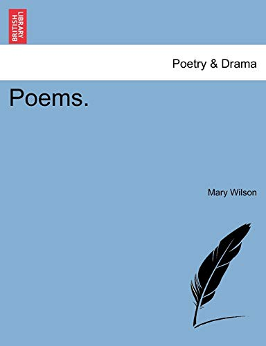 Poems. (124102216X) by Mary Wilson