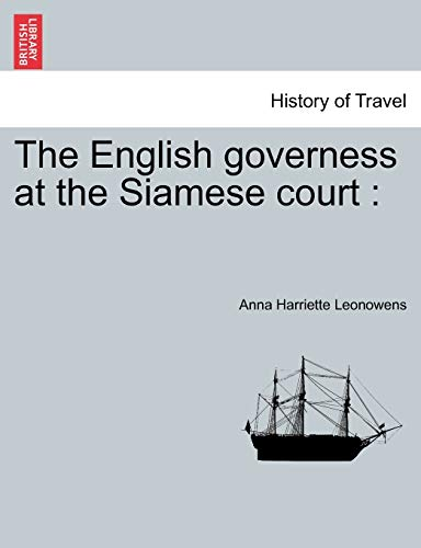 9781241131005: The English governess at the Siamese court