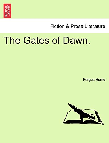 9781241207359: The Gates of Dawn.
