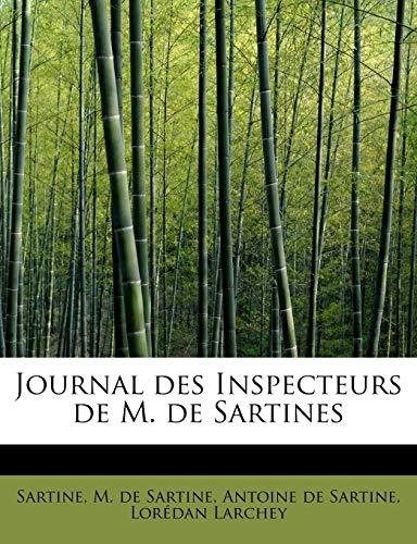 9781241290504: Journal Des Inspecteurs de M. de Sartines
