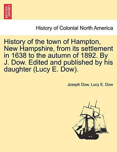 History of the town of Hampton, New: Dow, Joseph; Dow,