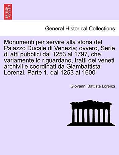 Monumenti per servire alla storia del Palazzo: Lorenzi, Giovanni Battista