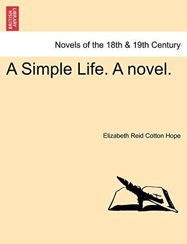 A Simple Life. a Novel. (Paperback)