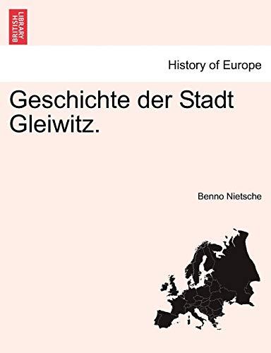 9781241401672: Geschichte der Stadt Gleiwitz.