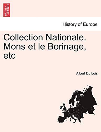9781241414665: Collection Nationale. Mons Et Le Borinage, Etc (French Edition)