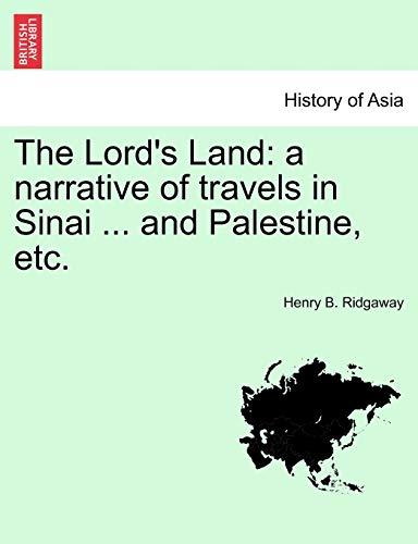 The Lord's Land: Henry B Ridgaway