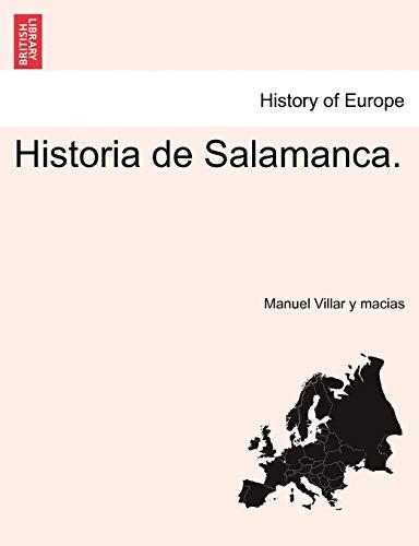9781241511319: Historia de Salamanca.