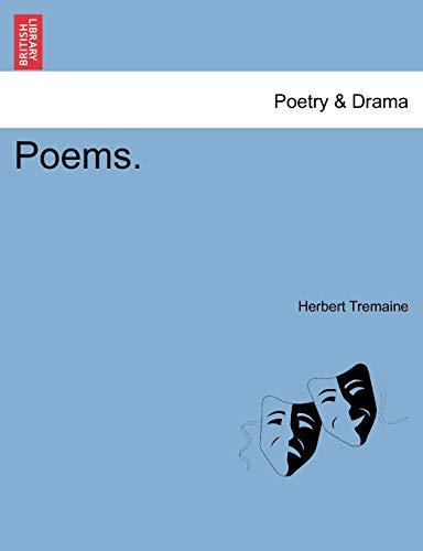 9781241541897: Poems.