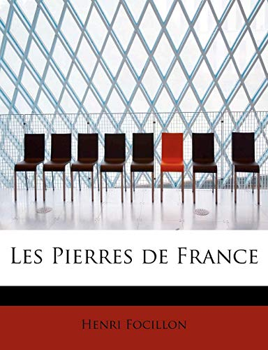 Les Pierres de France (9781241647988) by Focillon, Henri