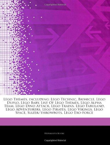 9781242653841: Articles on Lego Themes, Including: Lego Technic, Bionicle, Lego Duplo, Lego Baby, List of Lego Themes, Lego Alpha Team, Lego Dino Attack, Lego Trains