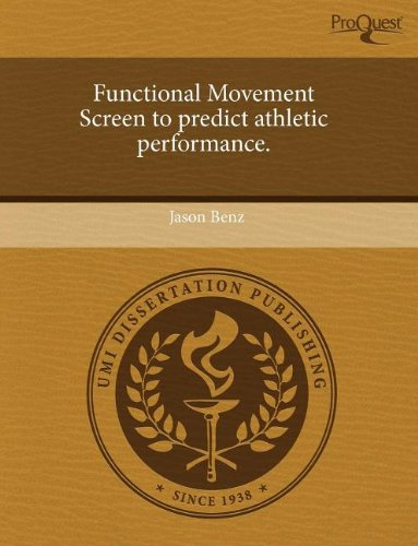 9781243487469: Functional Movement Screen to Predict Athletic Performance