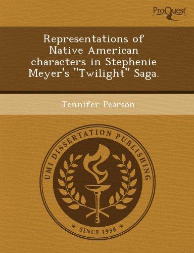 9781243523716: Representations of Native American characters in Stephenie Meyer's