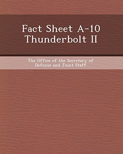 9781243554185: Fact Sheet A-10 Thunderbolt II