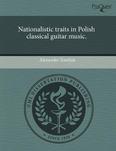 9781243696212: Nationalistic Traits in Polish Classical Guitar Music