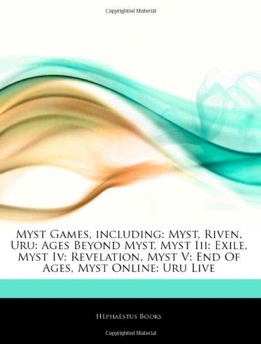 9781243953438: Articles on Myst Games, Including: Myst, Riven, Uru: Ages Beyond Myst, Myst III: Exile, Myst IV: Revelation, Myst V: End of Ages, Myst Online: Uru Liv