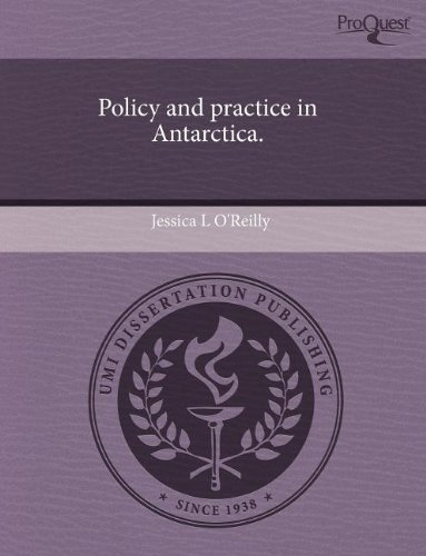 9781243966551: Policy and practice in Antarctica.