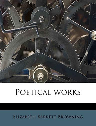 Poetical works (1245000764) by Elizabeth Barrett Browning