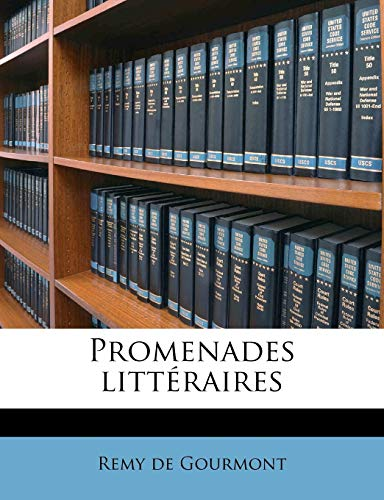 9781245144445: Promenades Litt Raires Volume 5 (French Edition)