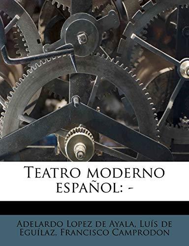 9781245172554: Teatro moderno español: -