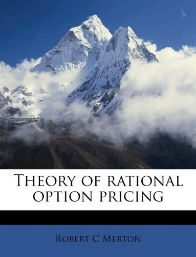 9781245197380: Theory of rational option pricing