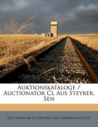 9781245256698: Auktionskataloge / Auctionator Cl Aus Steyrer, Sen