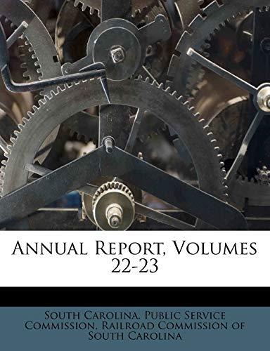 9781245425438: Annual Report, Volumes 22-23